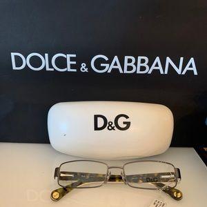 D&G Gunmetal Rx glasses 5061 352 52 16 135 NWT